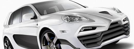 Porsche Cayenne Status Design