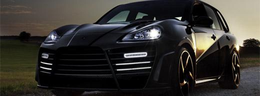 MANSORY Chopster новое воплощение Porsche Cayenne