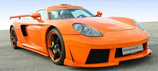 Porsche Carrera GT от Koenigseder
