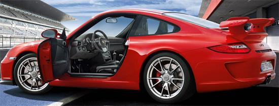 Porsche 911 GT3 модель 2010 года