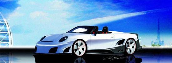9ff кабриолет Porsche 911 GT9-R