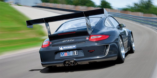 Фейслифтинг купе Porsche 911 GT3